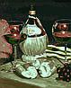 "Картина по номерам ""Натюрморт с Кьянти (Худ. Скотт Якобс)"", 40x50 см., Домашнее искусство"