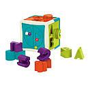Развивающая игрушка-сортер - УМНЫЙ КУБ (12 форм), фото 2
