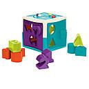 Развивающая игрушка-сортер - УМНЫЙ КУБ (12 форм), фото 3