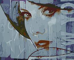 Картина по номерам Женский портрет (Худ. Ханс Йохем Баккер), 40x50 см., Домашнее искусство