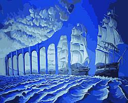 Картина по номерам Плавание на закате (Худ. Роб Гонсалвес), 40x50 см., Домашнее искусство