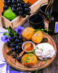Картина по номерам Натюрморт, 40x50 см., Домашнее искусство
