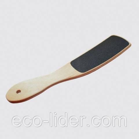 Педикюрная пилка деревянная изогнутая Сталекс, ТД-02 100/180