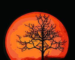 Картина по номерам Магическая луна, 40x50 см., Домашнее искусство