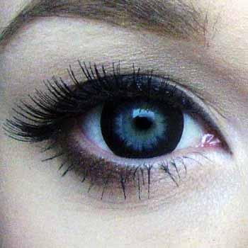 Цветные линзы для глаз черные купить в интернет-магазине недорого Украина!