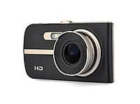 Видеорегистратор Noisy DVR T653 Full HD с выносной камерой заднего вида Черный
