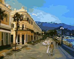 Картина по номерам Набережная Ялты, 40x50 см., Домашнее искусство