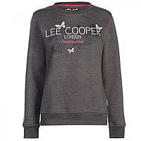 Свитер Lee Cooper Classic Crew Charcoal M - Оригинал