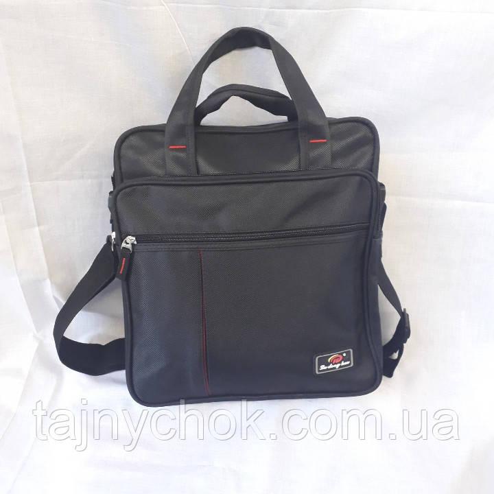 Тканевая спортивная мужская сумка с ручками, фото 1