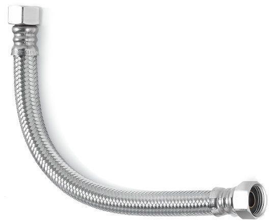 Шланг водяной УСИЛЕННЫЙ угловой TUCAI TAQ SUPER CODO HG-3434-500  3/4*3/4 ВВ 0,5 м нержавейка