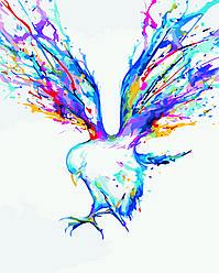 Картина по номерам Голубь (Худ. Марк Алланте), 40x50 см., Домашнее искусство