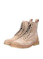 (Уценка) Ботинки мужские Blackstone цвет бежевый размер 42 арт (УЦ)OM52