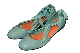 Балетки женские Lacoste цвет голубой размер 36 арт IICLW0841