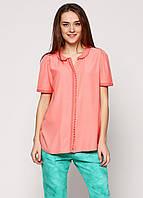 (Уценка) Блуза женская Maison Scotch цвет персиковый размер L арт (УЦ)1321-01.20706