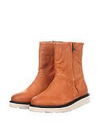 (Уценка) Ботинки женские Blackstone цвет кирпичный размер 37 арт (УЦ)MW75