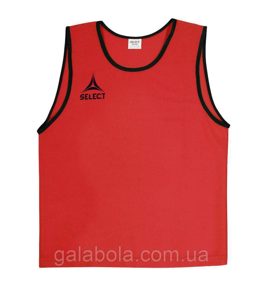 Манишка тренировочная SELECT Super (красная)