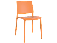 Стул Papatya Joy-S оранжевый, фото 1