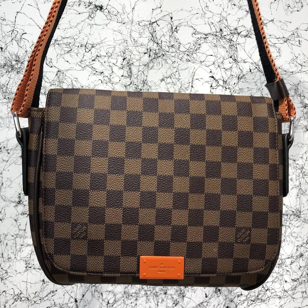 505bc47b61bc Мужская сумка мессенджер Louis Vuitton District MM Damier луи витон через  плече плечевая реплика - Tali