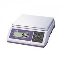 Весы для простого взвешивания CAS серии SW-10D (два индикатора)