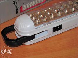 Аккумуляторный LED фонарь Fujita FT-725. Освещение без электричества. 42 ультра ярких светодиода, 3200мАч.