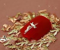 Металлические логотипы Ив Сен-Лоран (10штук)