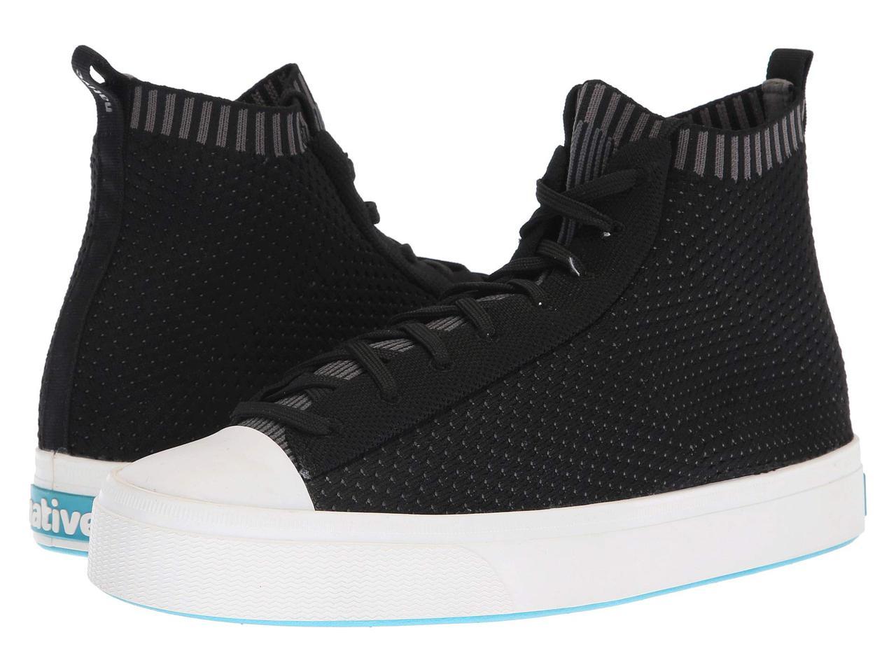 Кроссовки/Кеды (Оригинал) Native Shoes Jefferson 2.0 High Jiffy Black/Shell White