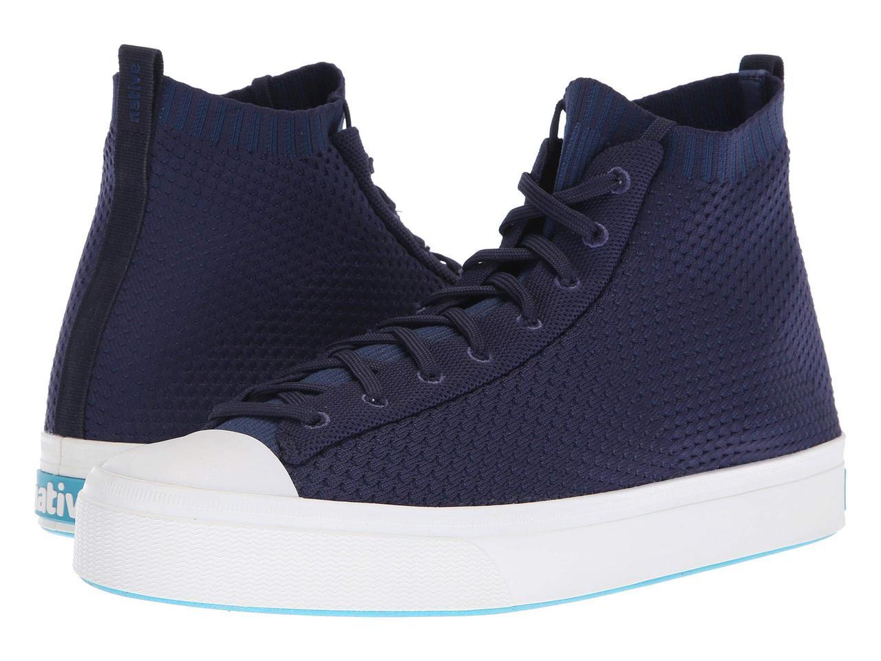 8df87ba94677 Кроссовки Кеды (Оригинал) Native Shoes Jefferson 2.0 High Regatta Blue Shell  White