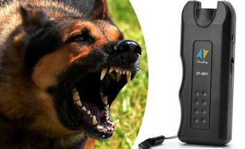 Ультразвуковой отпугиватель собак ZF-851 + фонарик, фото 3