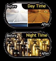 Антибликовый солнцезащитный козырек (светофильтр) для автомобиля HD Vision Visor, фото 2