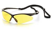 Очки тактические Pyramex PMXtreme Amber Anti Fog Lens Контрастные антизапотевающие линзы