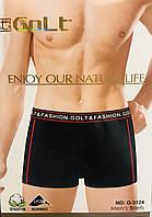 Трусы мужские боксёры хлопок + бамбук GOLT размер L-3XL(46-54) 3124