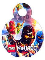 """Медали """"Ninjago"""". В упак: 10 шт. Диаметр: 75 мм."""