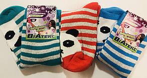 """Носки детские, подростковые зимние махровые девочка """"ВиАтекс"""" размер 18(29-31), ассорти"""