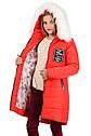 Зимнее подростковое пальто для девочек Париж Размеры 38- 44, фото 10