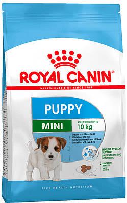 Сухой корм Royal Canin Mini Puppy для щенков мелких пород до 10 месяцев 8кг