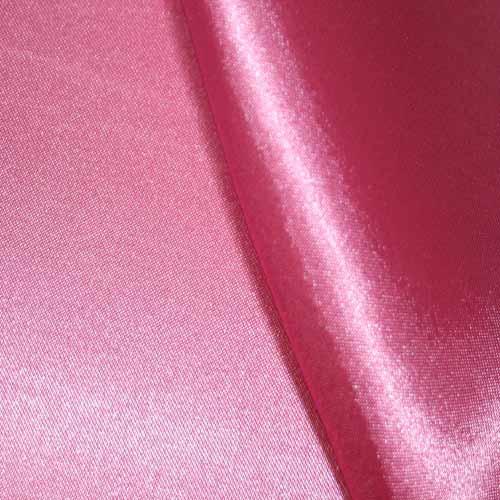 Ткань атлас розовый