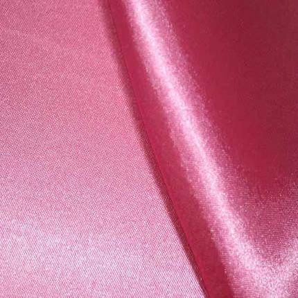 Ткань атлас розовый, фото 2
