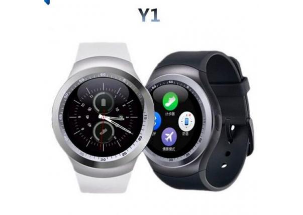 Умный гаджет Смарт-часы 4sport Smart Watch Y1 Black шагомер, счётчик калорий, мониторинг сна, фото 2