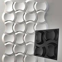 """Форма для модульных 3D панелей """"Клин"""" 250*170 мм, фото 1"""
