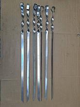Шампур для Люля-кебаб, шампур ручной работы (нержавеющая сталь - 2 мм.)
