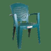 Кресло Irak Plastik Aspendos зеленое