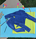 Стильный джинсовый комплект 1-2-3-4 года , фото 4