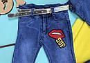 Стильный джинсовый комплект 1-2-3-4 года , фото 3
