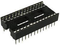 Панелька под микросхему ISCL-28, шаг 1.77, узкая
