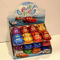 Яйцо шоколадное пластиковое Toy Egg Тачки 24 шт., 15 г (Prestige)