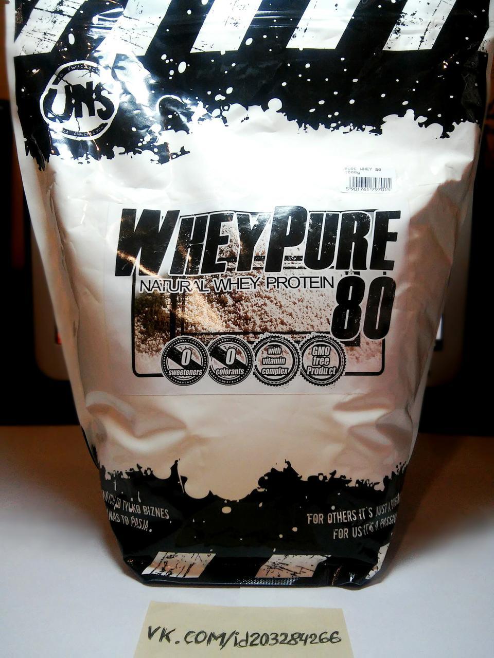 Протеин, UNS Whey Pure 80 1800г