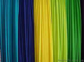 Ткань атлас салатовый, светло-зелёный, фото 3