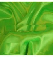 Ткань атлас салатовый, светло-зелёный