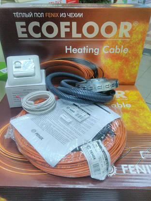 5м2 Fenix Ecofloor 830W кабель нагревательный 46м для теплого пола под плитку