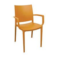 Кресло Irak Plastik Lara светло-коричневый
